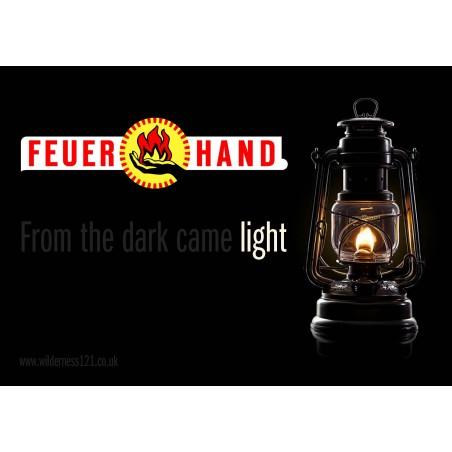 Feuerhandl 276 Hurricane Paraffin Lanterns Light out of the darkness