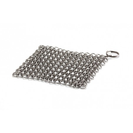 Petromax Pot Scourer/Scrubber made of Stainless Steel Chain Mail