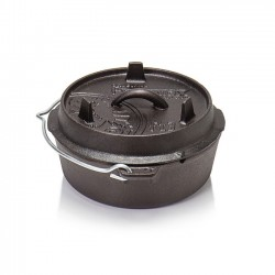 Petromax Flat Bottomed Dutch Ovens with no legs FT-T3