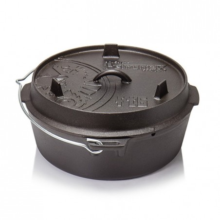 Petromax Flat Bottomed Dutch Ovens with no legs FT-T6