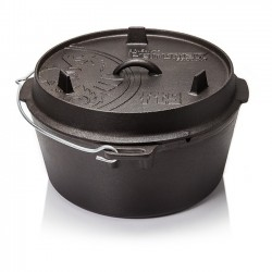 Petromax Flat Bottomed Dutch Ovens with no legs FT-T9