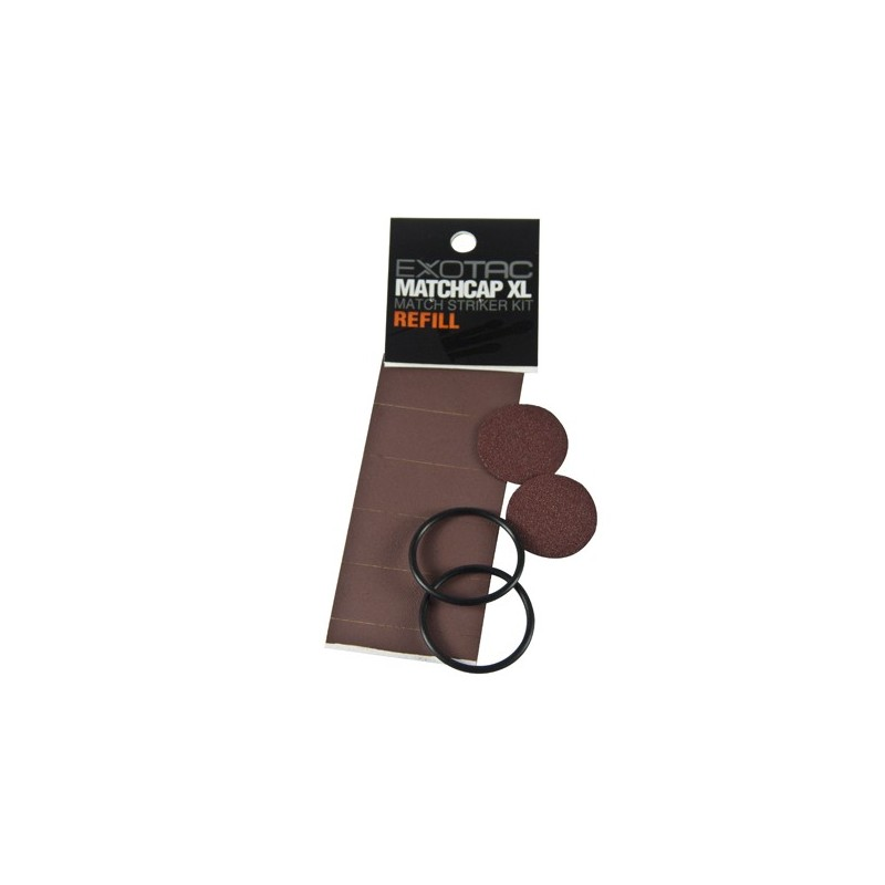 EXOTAC MATCHCAP XL replacement O-rings and Striker pack