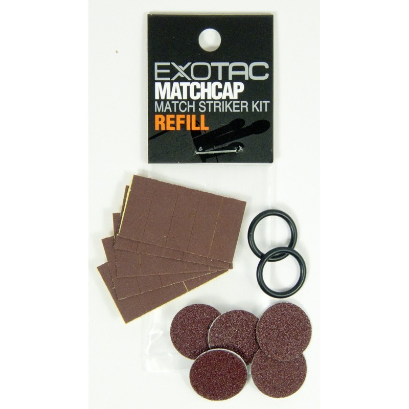 EXOTAC MATCHCAP replacement O-ring and Striker packs