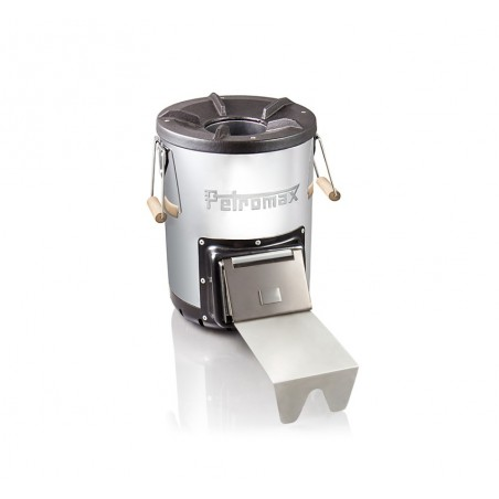 Petromax Rocket Stove RF33 with fuel feed retracted