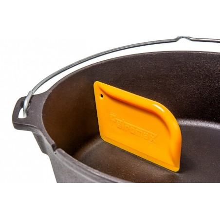 Scraper for Dutch Ovens and Skillets