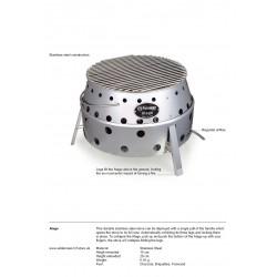 Petromax Atago | BBQ Fire Pit, Stove,