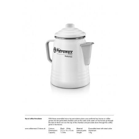 Petromax Perkomax Tea and Coffee Percolator Black