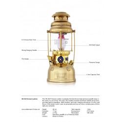 Petromax HK500 Pressure Lantern PX5 Chrome