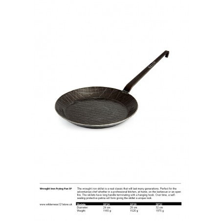 Petromax Wrought Iron Frying Pan