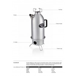 Petromax Fire Kettle fact sheet