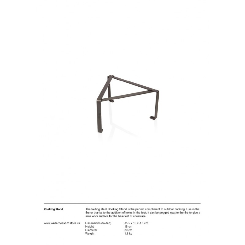 Petromax Cooking Stand fact sheet