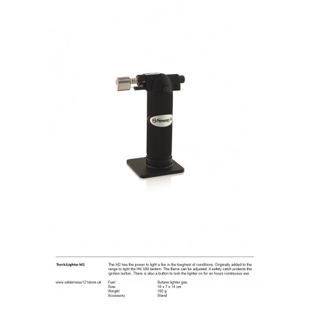 Petromax hf2 Professional Torch - Lighter