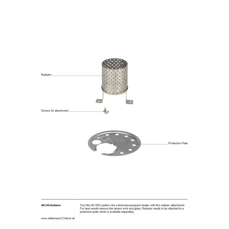 Petromax Radiator
