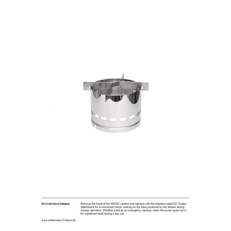 Petromax ez-cook Stove Adapter fact sheet