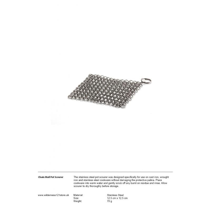 Petromax Chain Mail Pot Scourer Scrubber