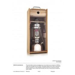 Wooden display box for Petromax HK500 Lantern