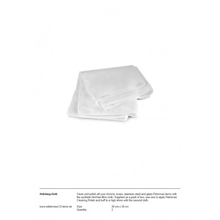 Petromax Polishing Cloth fact sheet