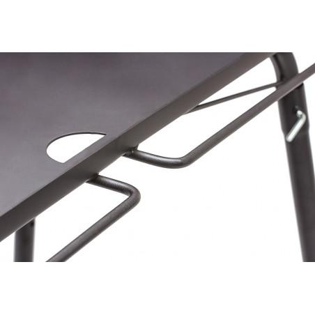 Petromax Dutch Oven Table FE90 hanging rail detail shot