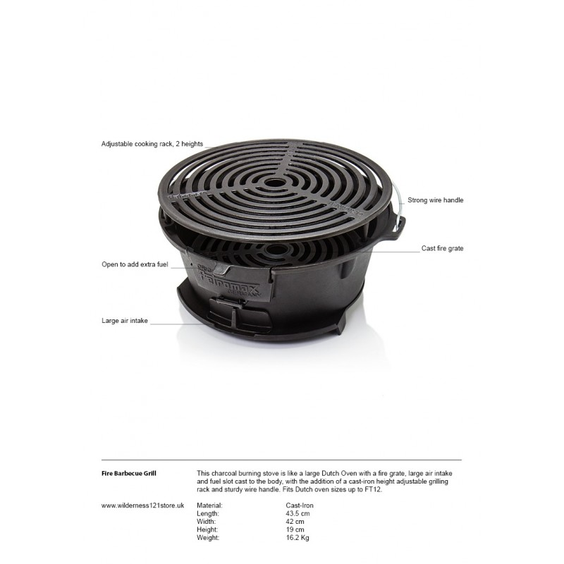 Fire Barbecue Grill