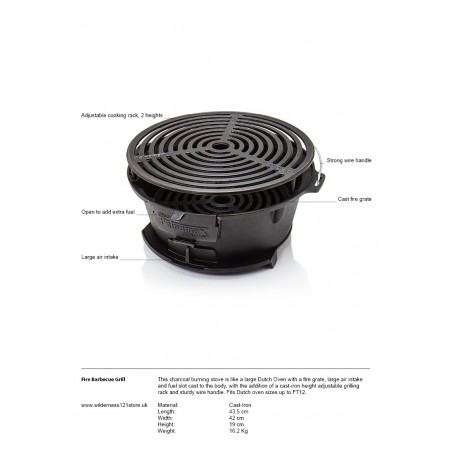 Petromax Fire Barbecue Grill tg3