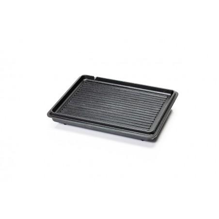 Large Loaf Pan detail shot of grilling plate inside lid