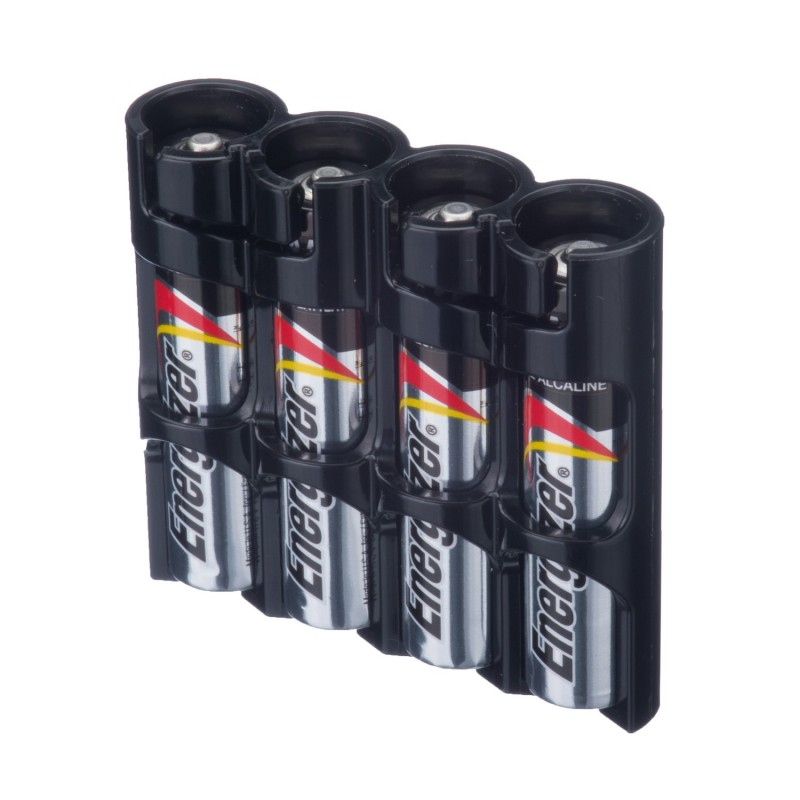 Powerpax Storacell Slimline 4 AAA Battery Caddy