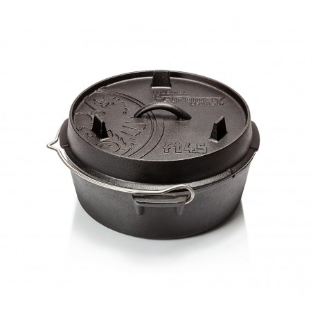 Petromax Flat Bottomed Dutch Ovens with no legs FT-T4.5