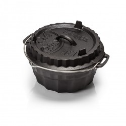 Ring Cake Pan gf1 with lid closed
