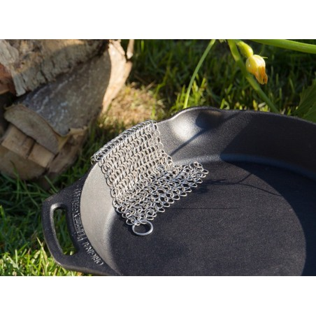 Petromax Chain Mail Pot Scourer Scrubber XL
