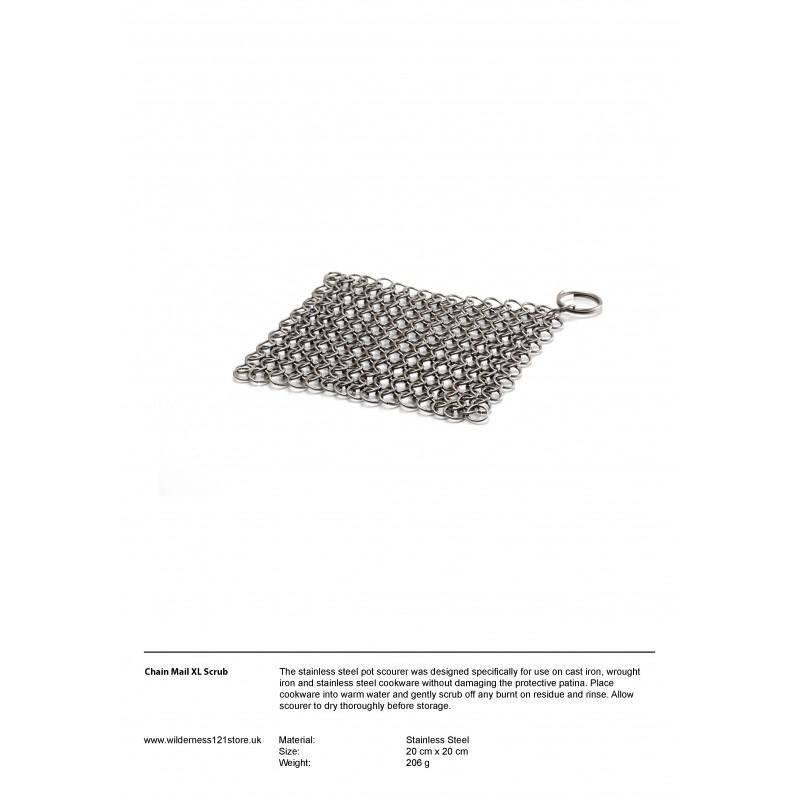 Petromax Chain Mail Pot Scrub XL fact sheet
