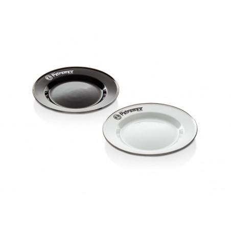 Enamel Plates | 2 pieces in Set | Black or White