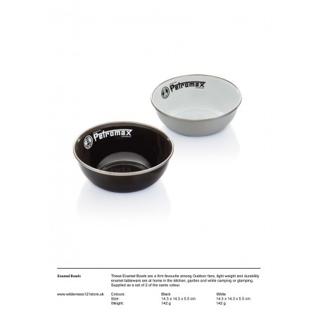 Enamel Bowls | Set of 2 pieces | factsheet
