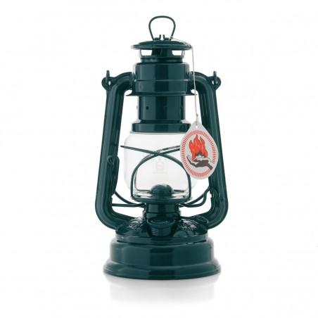 Feuerhandl 276 Hurricane Paraffin Lanterns Blue Green