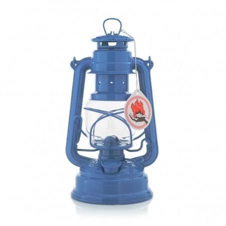 Feuerhandl 276 Hurricane Paraffin Lanterns Brilliant Blue