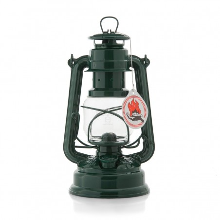 Feuerhandl 276 Hurricane Paraffin Lanterns Moss Green