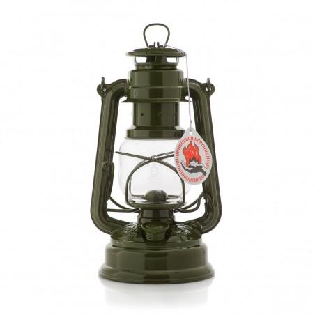 Feuerhandl 276 Hurricane Paraffin Lanterns Olive Green