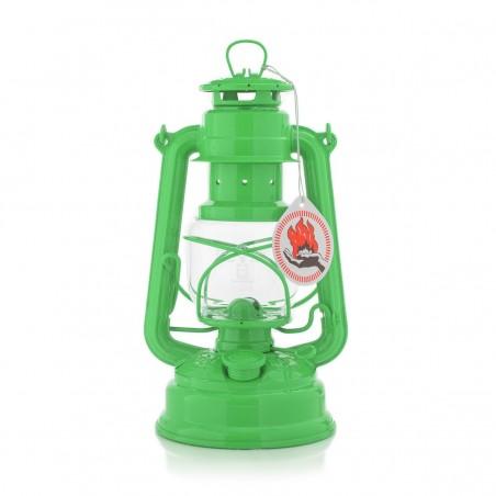 Feuerhandl 276 Hurricane Paraffin Lanterns Yellow Green