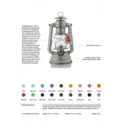Feuerhandl 276 Hurricane Paraffin Lanterns Fact Sheet