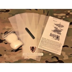 SURE Strip Military Fire Starter Kit