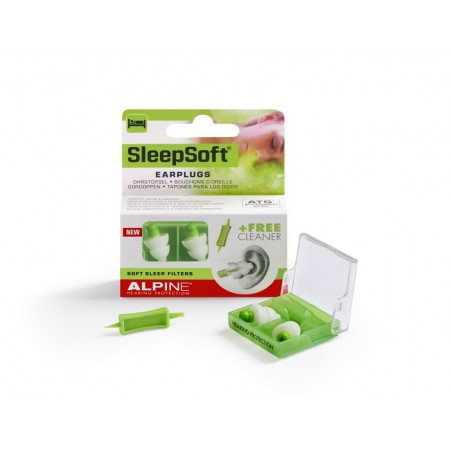 Alpine Hearing Protection Sleep Soft Earplugs