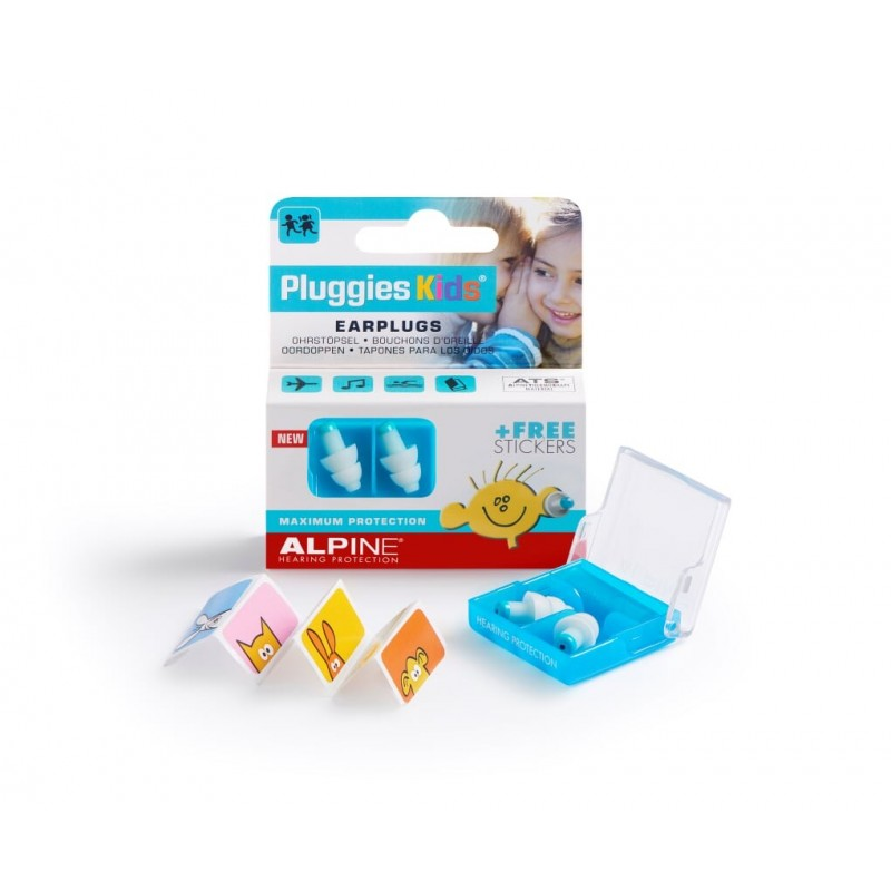 Alpine Hearing Protection Pluggies Kids Earplugs