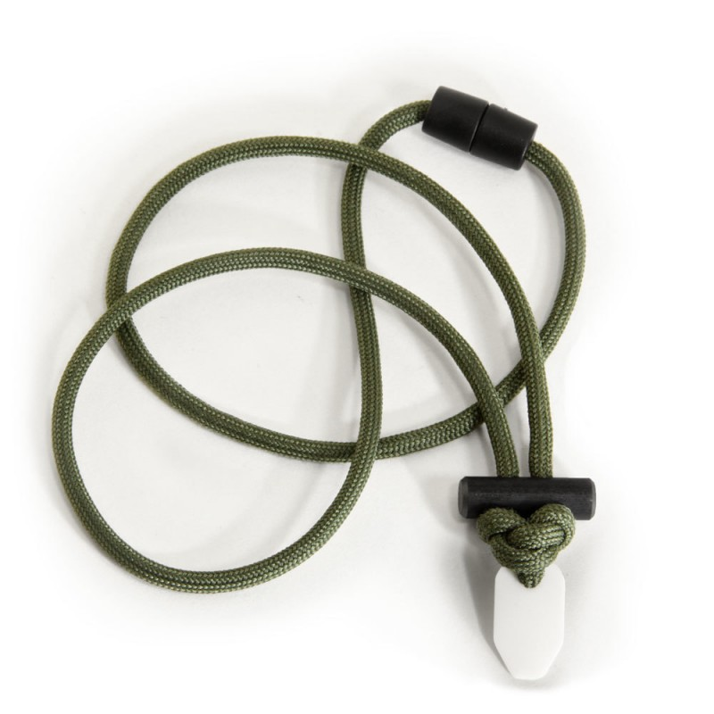 Wazoo Firecraft 550 FireCord Necklace OD Green