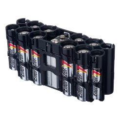 Powerpax Storacell A9 Multi Pack Battery Caddy Black