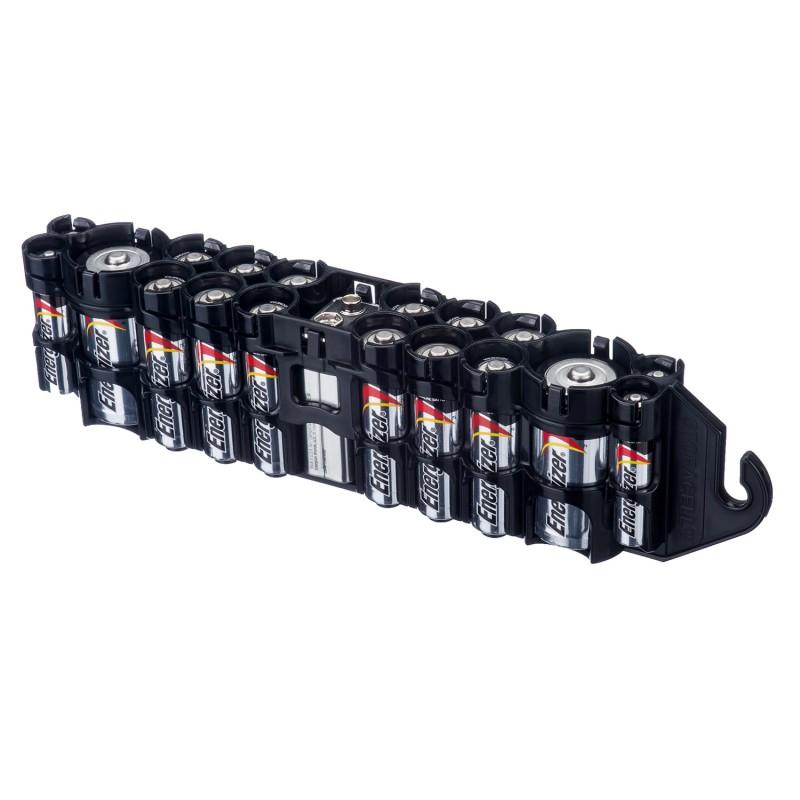 Powerpax Storacell PBC Original Battery Caddy Black