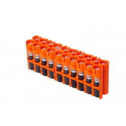 Storacell 20 AAA Battery Caddy Storage Case - Orange