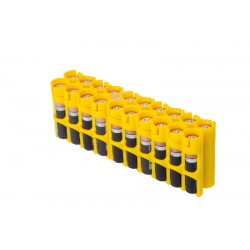 Storacell 20 AAA Battery Caddy Storage Case - Yellow