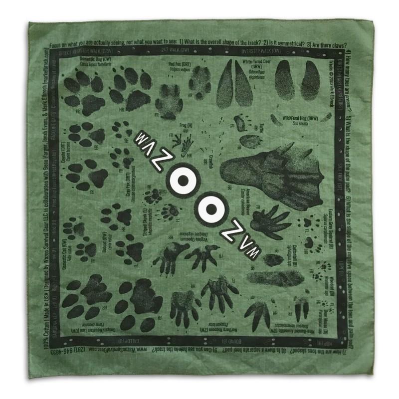 wazoo tracking kit bandana