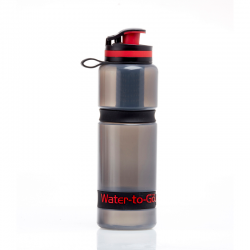 Water To Go Active Bottle 750ml 75cl.  Safe water on the move
