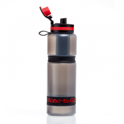 Water To Go Active Bottle 750ml 75cl.  Flip open cap