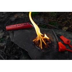 Procamptek - Fat Rope Stick Fire Starter | fire lit with Fat Rope